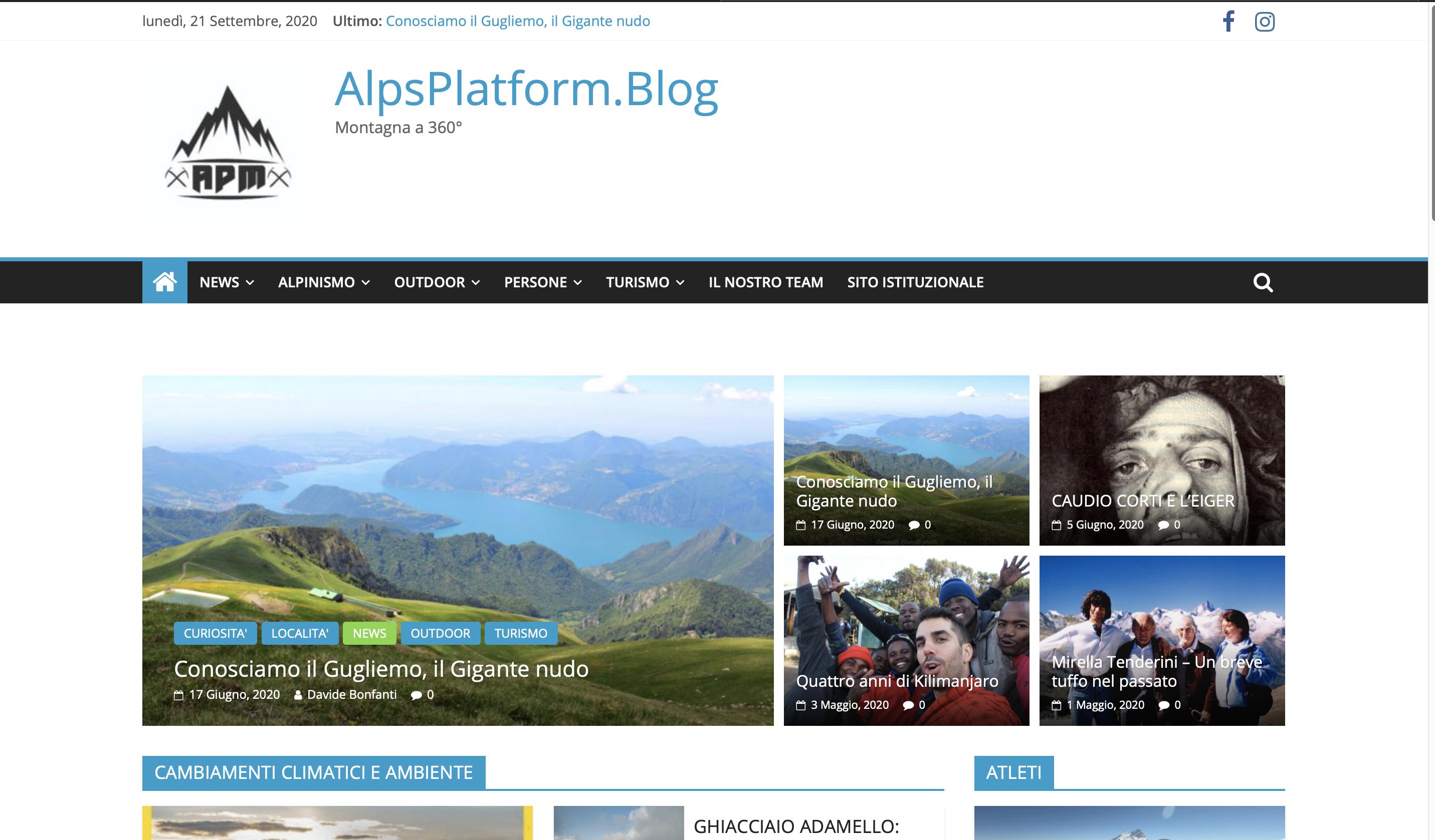 Foto del blog di Alps Platform